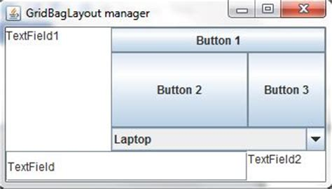 layout manager and types in java layout managers in java part 2