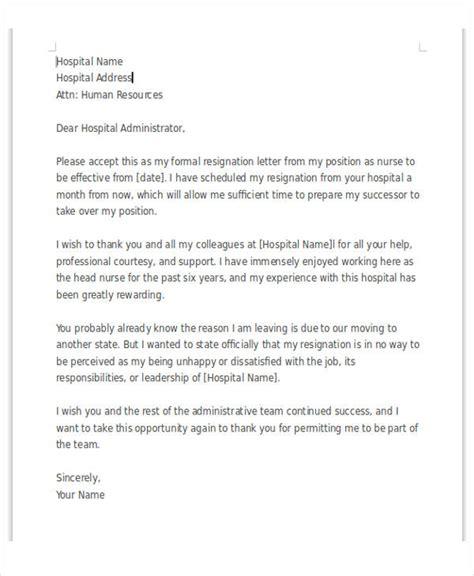 Resignation Letter Sle Unhappy Employee 34 free resignation letters free premium templates