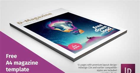 template majalah gratis free template desain majalah format indesign desain graphix