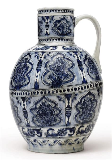 Ottoman Ceramics A Large Kutahya Pottery Ewer Ottoman Turkey Second Half 18th Century Christie S