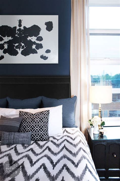 master bedroom colors ideas 17 best ideas about navy blue bedrooms on pinterest navy 16023 | 0ed86c476476977ba04941fa863c0ec7