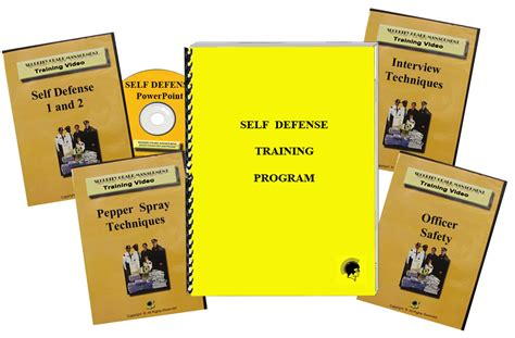 self defense program security guard management