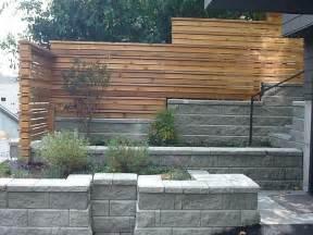 modern fence modern horizontal board fence design design inspiration pinterest concrete walls fence