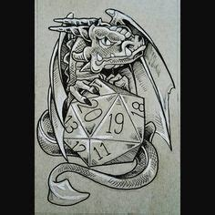 dragon tattoo ink recall dungeons and dragons tattoo 2 by dragonladycels on