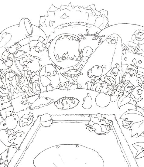 plants vs zombies coloring book for and books coloring pages plants vs zombies coloring pages