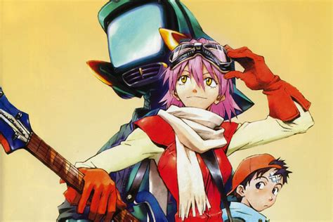 new anime cult anime series flcl is returning for two new seasons