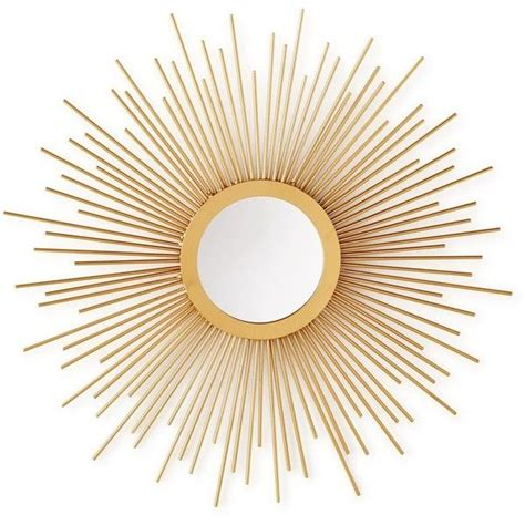home design studio small sunburst mirror 36 liked on