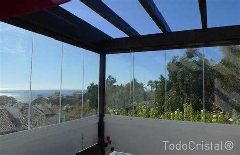 copertura terrazzi in vetro strutture in alluminio e vetro