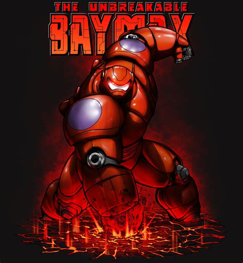 baymax armor wallpaper protective baymax by stevegibson on deviantart