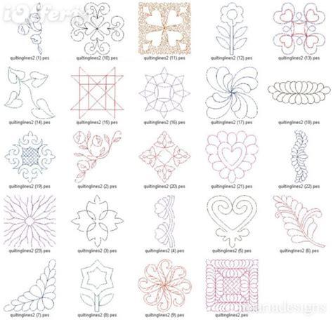 machine patterns free machine quilting patterns free embroidery designs best
