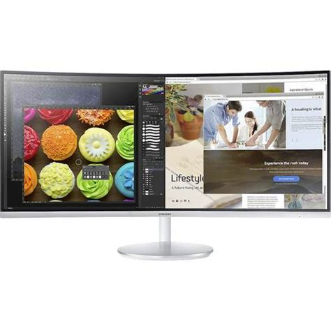 Led Monitor Samsung S34e790cns Led 34 2 samsung 34 quot led curved qhd freesync monitor gray lc34f791wqnxza best buy