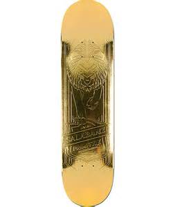 primitive gold deck primitive salabanzi gold 7 8 quot skateboard deck at