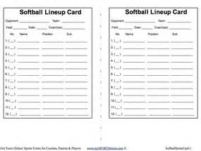free baseball lineup card template pics photos softball batting lineup template softball zack hample s lineup cards