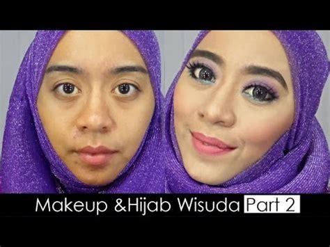 tutorial hijab wisuda youtube tutorial makeup pemula dan hijab wisuda menggunakan bahasa