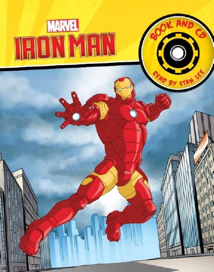 iron man read along storybook and cd paperback marvel book group target the store iron man storybook and cd book
