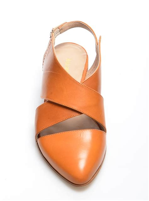 closed toes sandals lyst atalanta weller cheffre leather closed toe