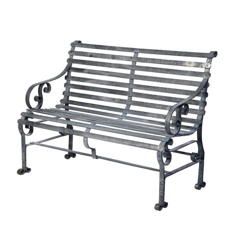 iron benches wrought iron bench classic outdoor kit