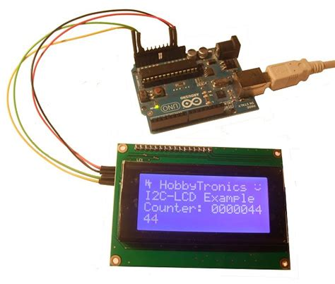 I2c Lcd Back Pack For Arduino lcd backpack v2 i2c and serial rx i2clcdbpv2