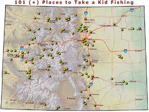 fishing maps colorado colorado parks wildlife fishing