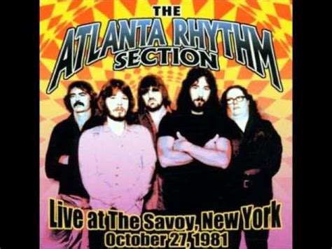 atlanta rhythm section alien atlanta rhythm section alien live savoy nyc 1981 youtube