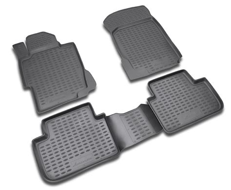 Honda Accord Floor Mats 2012 by Novline Honda Accord Floor Mats 2008 2012 Sedan