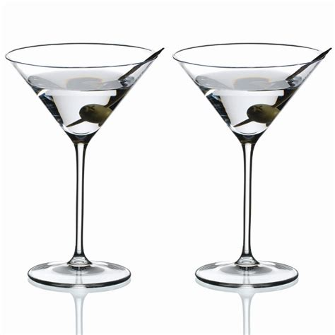 Cocktail Glassware Riedel Vinum Xl Cocktail Martini Glass Set Of 2