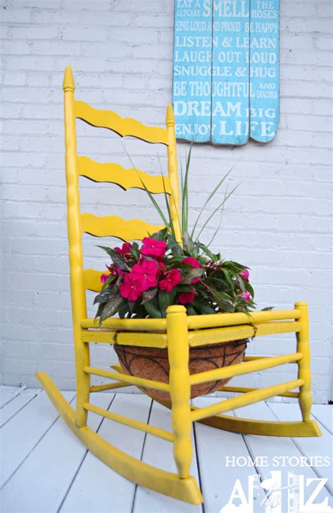 Chair Planter by How To Make A Chair Planter Lowescreator Home Stories A