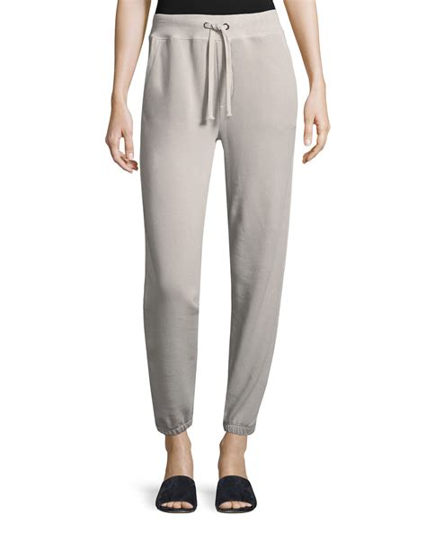 Matching Sweatpants vince drawstring pull on cotton jogger sweatpants and
