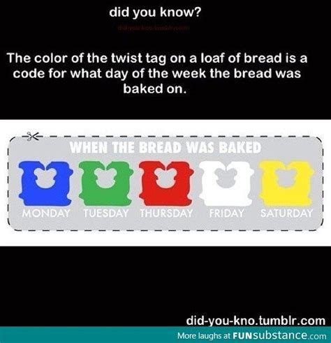 bread tie colors meaning what the color tags on loaf bread means tastes great