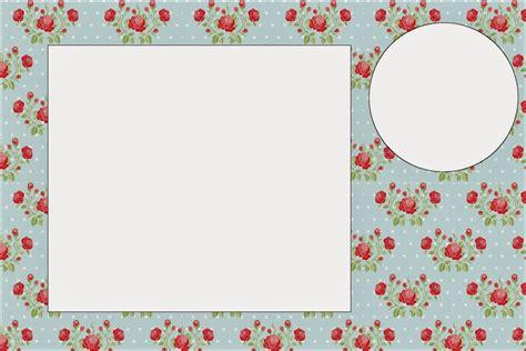 crear imagenes minimalistas online rosas rojas en fondo celeste invitaciones para imprimir