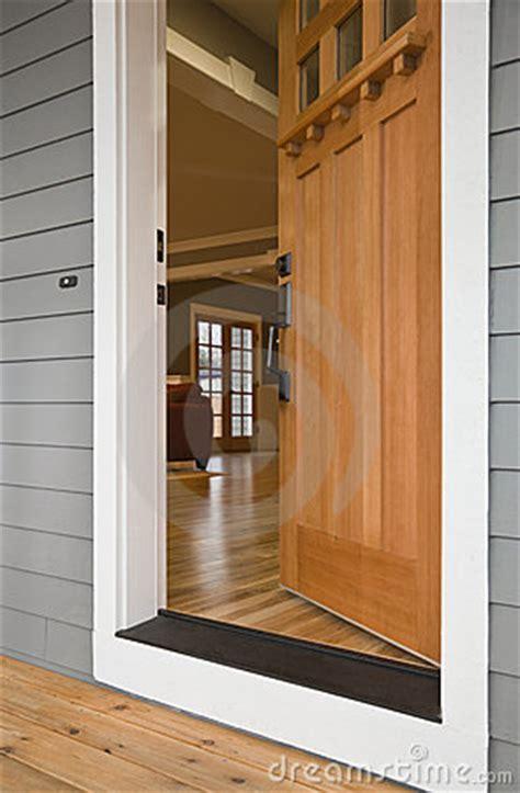 open front door   home royalty  stock photo image