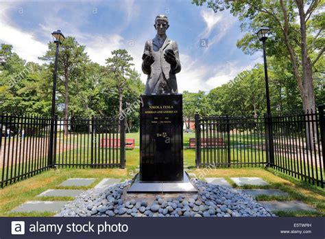 Tesla Monument Nikola Tesla Monument At His Wardenclyffe Research