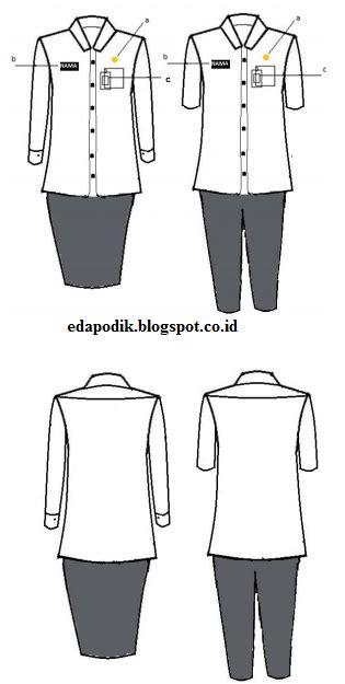 Baju Hitam Putih Untuk Pns model pakaian dinas pns 22 januari 2016 untuk wanita
