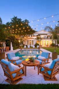 Flordia home outdoor garden mansion pool string lights party better
