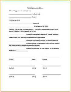 Basic Residential Lease Agreement Template Basic Lease Agreement Template Rental Agreement Template