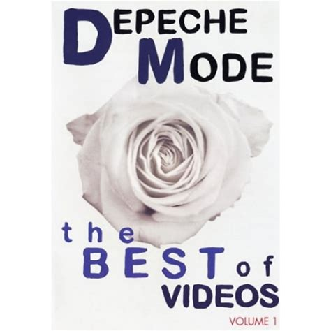 the best of depeche mode depeche mode the best of volume 1 dvd