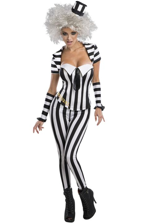 secret wishes beetlejuice adult costume purecostumescom