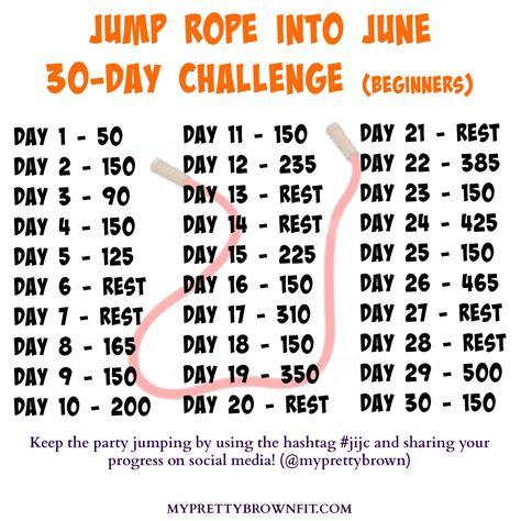 beginner fitness jumpstart week 1 homemade workout jump rope into june 30 day challenge jijc continue