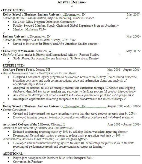 gaga functional resume layout