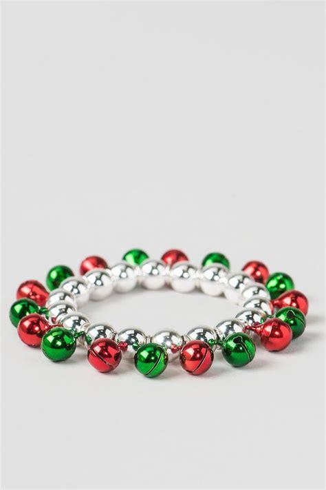jingle bell stretch bracelet s