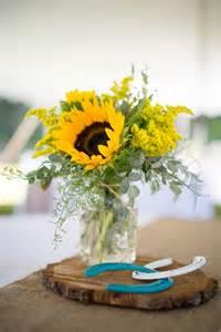 25 best ideas about sunflower centerpieces on pinterest sunflower wedding centerpieces