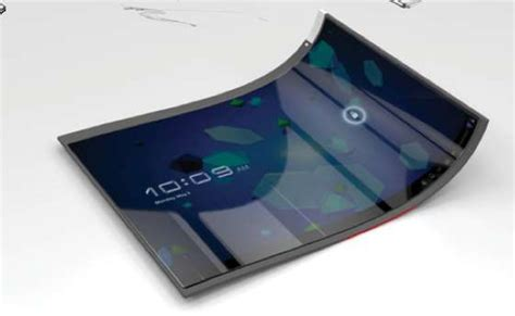 Mobil Futura by Futuristic Furling Tablets The Future Of Mobile Technology
