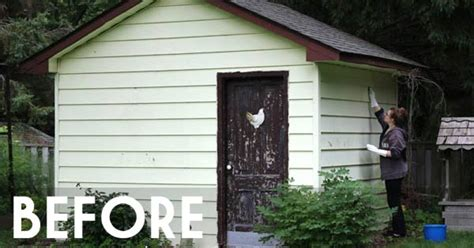 hometalk rustic fall garden shed rustic fall garden shed junk makeover hometalk