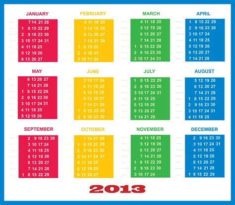 calendar template 2013 search results for blank academic calendars 2013 page 2