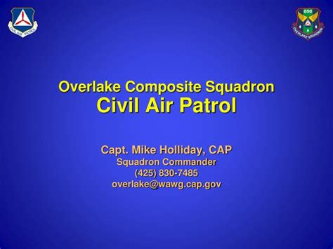 Ppt Overlake Composite Squadron Civil Air Patrol Powerpoint Presentation Id 2695585 Civil Air Patrol Powerpoint Template
