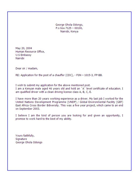 Cover Letter Via Email Signature Cover Letter Email Signature