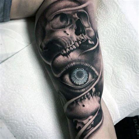 tattoo eye skull 114 intense eye tattoos that will blow your mind