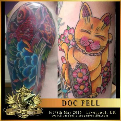 doc tattoo doc fell liverpool convention