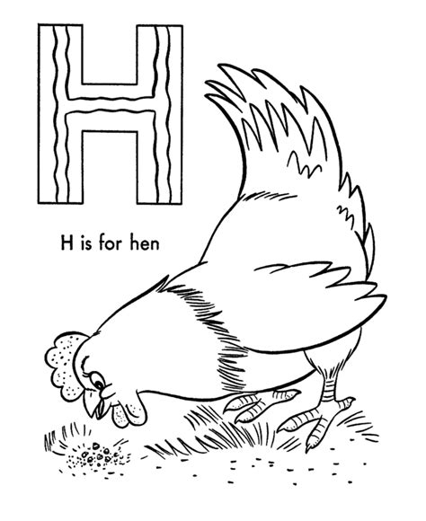 coloring pages of things that start with u things that start with the letter h coloring pages many
