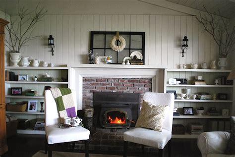 Calm & Quiet Winter Decor   An Oregon Cottage